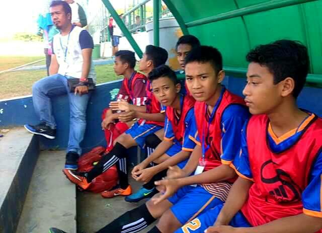 Tim kesebelasan U-15 Lingga melaju ke semifinal turnamen piala Gubernur Kepri