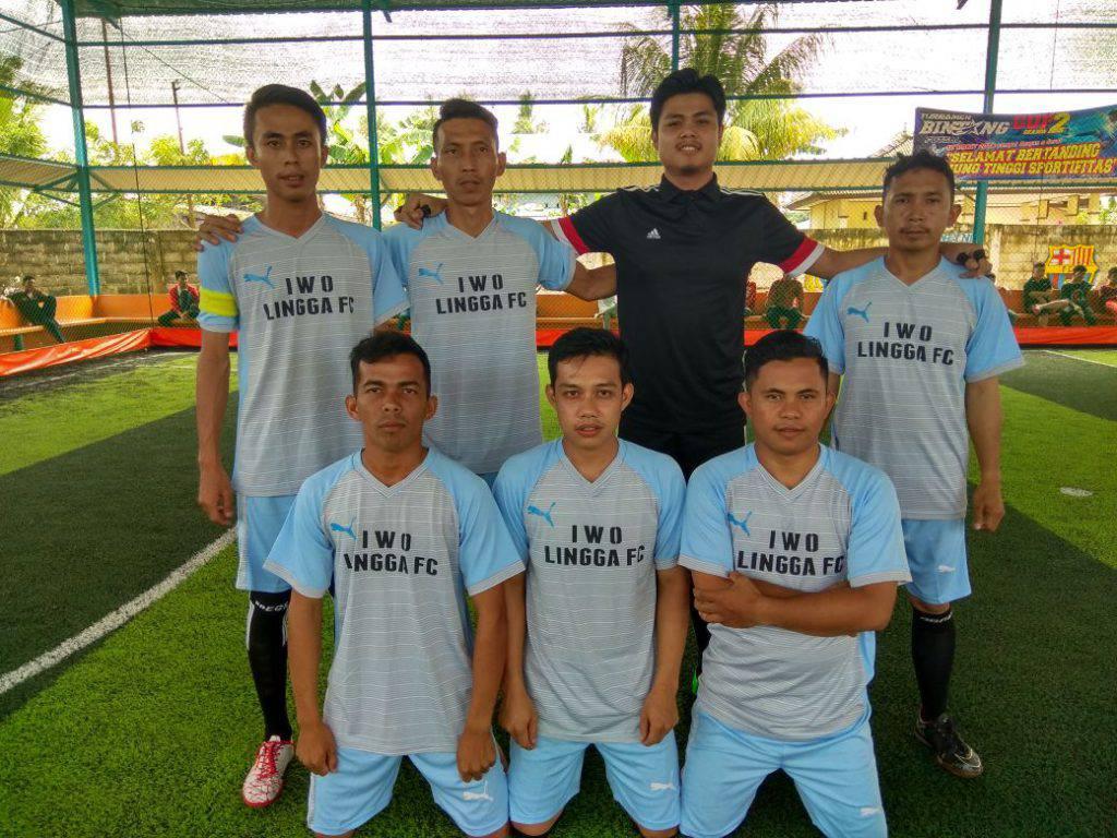 Keterangan foto : tim IWO LINGGA FC