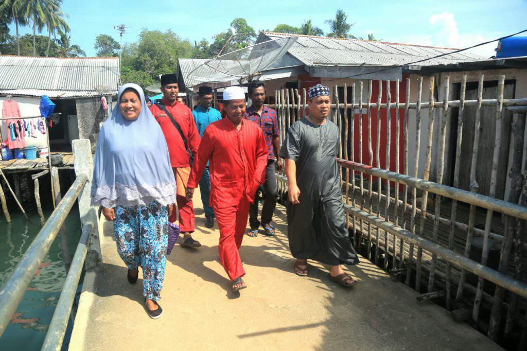 Wakil Bupati Lingga M. Nizar, S.Sos Beserta Rombongan